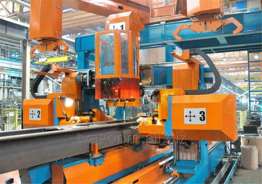 Купить Автоматизированный сверлильный комплекс для хребтовых балок грузовых вагонов