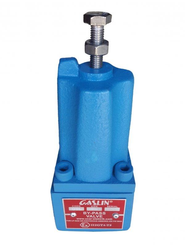 """Дифференциальный байпасный клапан GASLIN gsl-620 1"""" (corken t166 b166) для насоса, сжиженого газа, СУГ, пропана, газовых модулей, моноблоков, АГЗП, АГЗС, газовых заправок."""