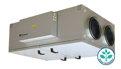 Buy Forced-air and exhaust Systemair TOPVEX FR03-L-CAV installation