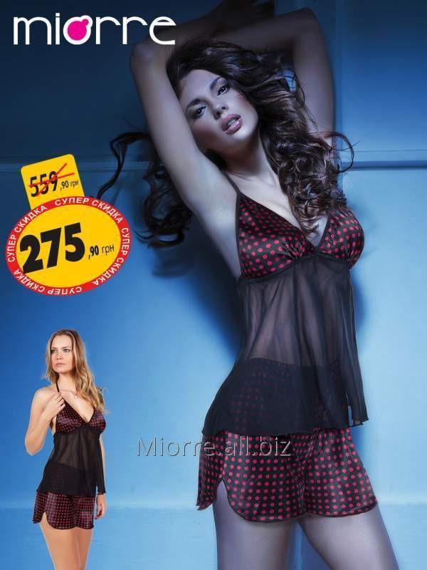 Купить Комплект - камисоль и шорты Miorre 001-018269