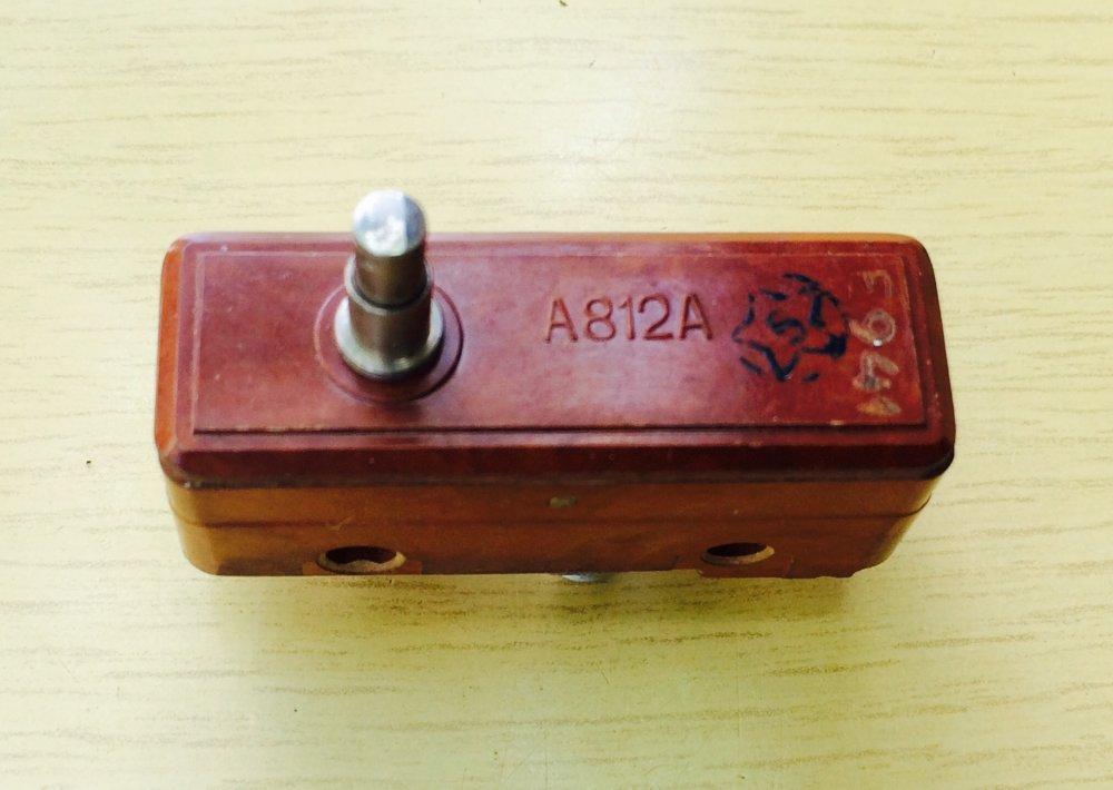 Купить Микропереключатель А812А