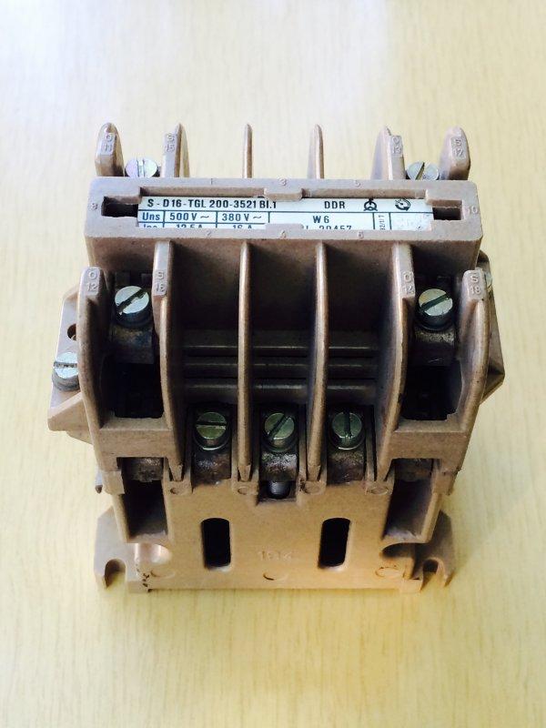 Купить Контактор S-D16-TGL 12,5-16А 200-3521 BI.1 DDR