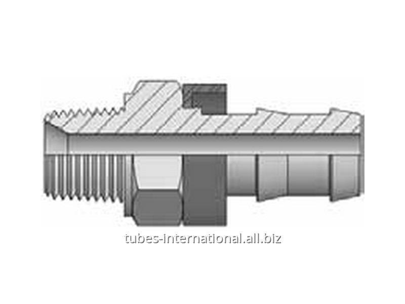 Фитинг Push-On Резьба NPT, конус 60°