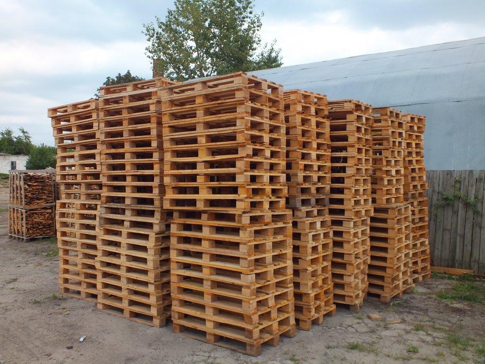Поддон деревянный 1200х800  (новый) Сумы область