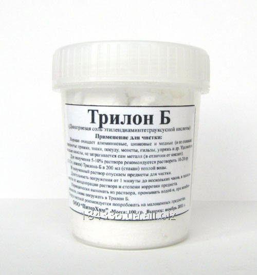 Купить Трилон БД, трилон Б динатриевая, 2-водная динатриевая соль этилендиаминтетрауксусной кислоты, ЭДТА от 1 кг