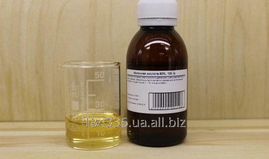 Купить Молочная кислота (Lactic acid, E270) 80% фасовка 1кг 5кг