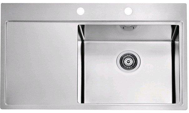 Купить Кухонная мойка Alveus Pure 50R (860x525x195 1x) полированная правая (1103653)