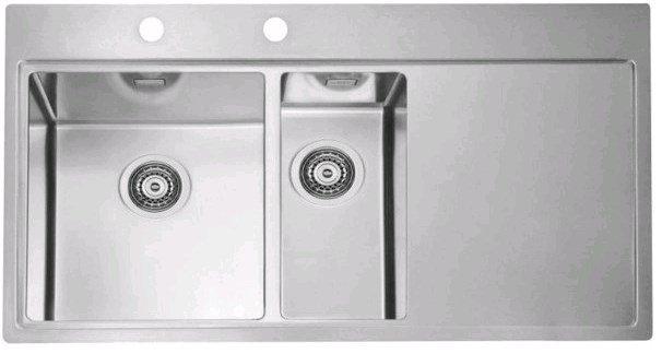 Купить Кухонная мойка Alveus Pure 60L (980x525x195 1x) полированная левая (1103654)