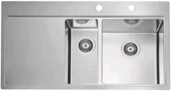 Купить Кухонная мойка Alveus Pure 60R (980x525x195 1x) полированная правая (1103655)