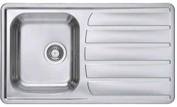 Купить Кухонная мойка Alveus Zoom 30 Maxim (860x500x185 1x) полированная (1108176)