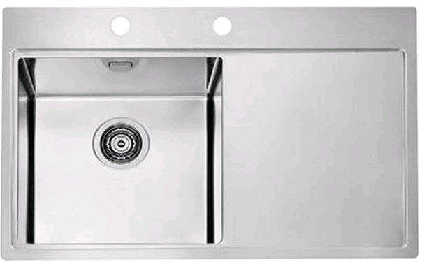 Купить Кухонная мойка Alveus Pure 40L (790x525x195 1x) полированная (1103610)