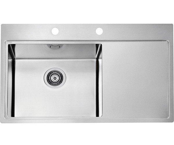 Купить Кухонная мойка Alveus Pure 50L (860x525x195 1x) полированная (1103652)