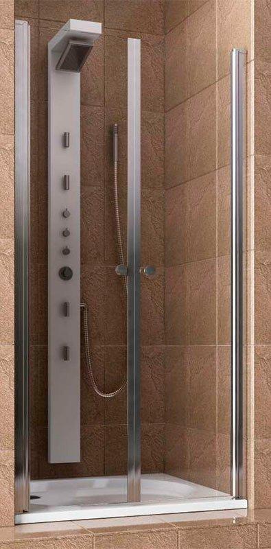 Купить Душевая дверь Aquaform SILVA 100 маятниковая в нишу (103-05554)