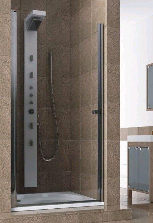 Купить Душевая дверь Aquaform SILVA 80 распашная в нишу левая (103-05556)