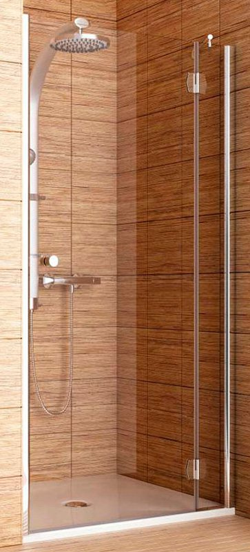 Купить Душевая дверь Aquaform SOL DE LUXE 90 разпашная в нишу правая (103-06063)