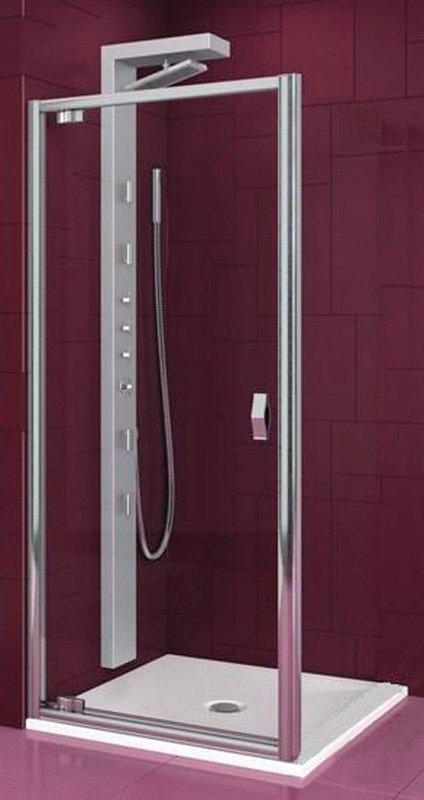 Купить Душевая дверь Aquaform SALGADO 90 распашная в нишу/со стенкой (103-06076)