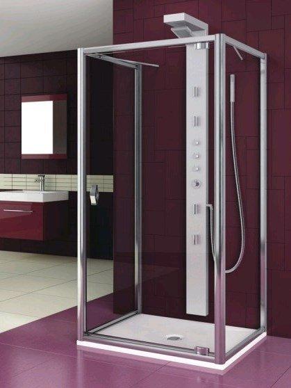 Купить Душевая дверь Aquaform SALGADO 90 трехсторонней кабины (103-06088)