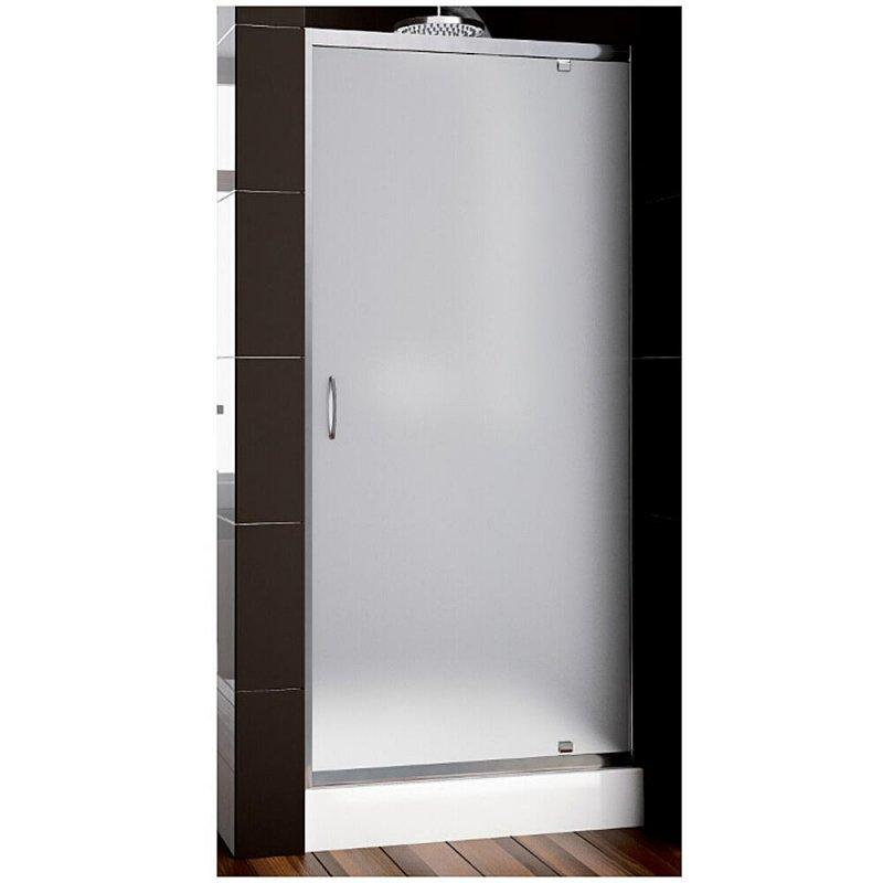 Купить Душевая дверь Aquaform NIGRA 80 распашная в нишу/со стенкою, сатинато (103-091112)