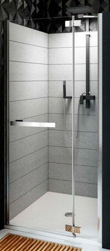 Купить Душевая дверь Aquaform HD COLLECTION 90 распашная в нишу правая (103-09396)