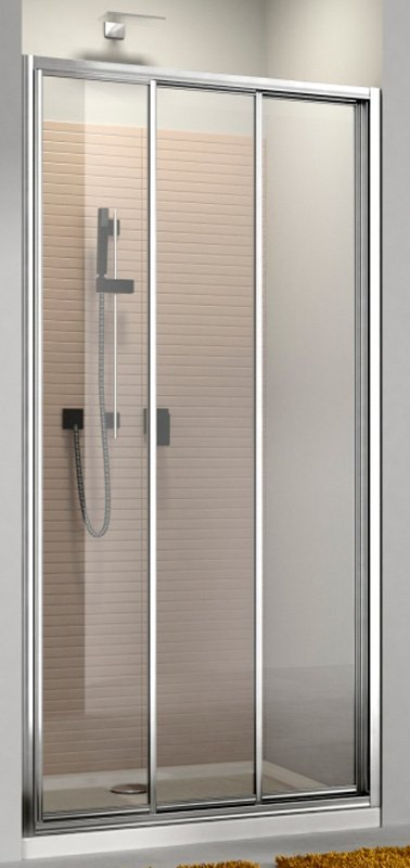 Купить Душевая дверь Aquaform MODERNO 110 раздвижная в нишу/со стенкой (103-09343)