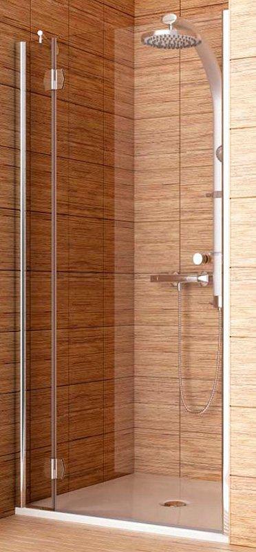 Купить Душевая дверь Aquaform SOL DE LUXE 80 разпашная в нишу левая (103-06062)