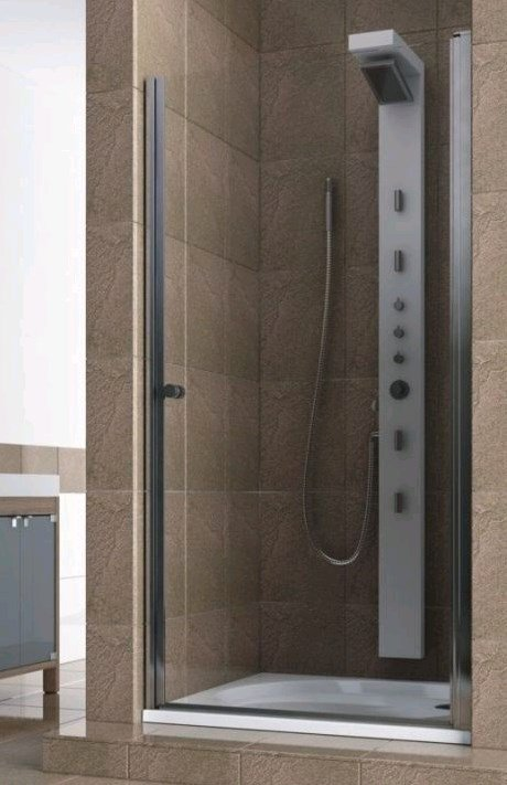 Купить Душевая дверь Aquaform SILVA 90 распашная в нишу правая (103-05557)