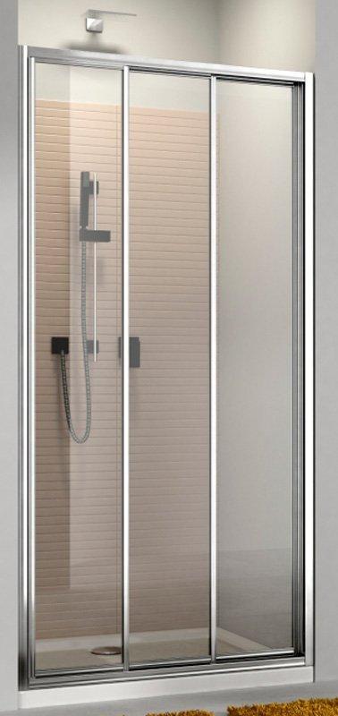 Купить Душевая дверь Aquaform MODERNO 120 раздвижная в нишу/со стенкой (103-09344)