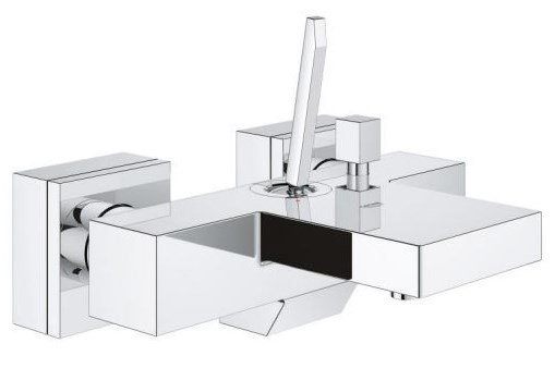 Купить Смеситель Grohe Eurocube Joy OHM bath exp (23666000)