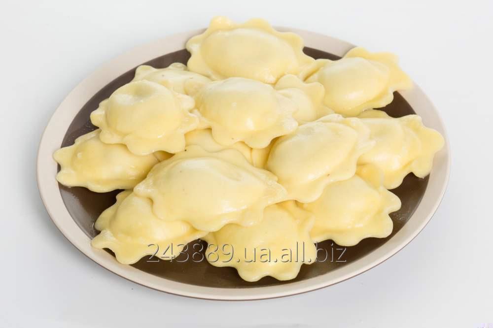 Купить Вареники с картофелем и печенью 7 кг Полісся