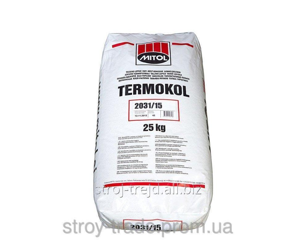 Купить Клей-расплав для кромки ПВХ среднетемпаратурный Termokol 2031.