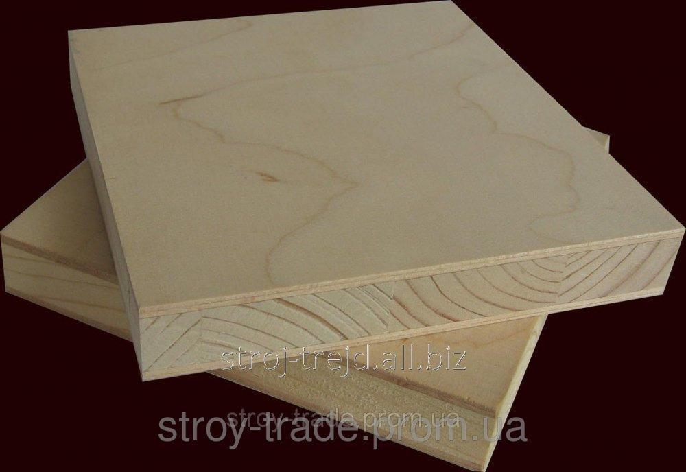 Купить Столярная плита 1250х2500х12 мм.