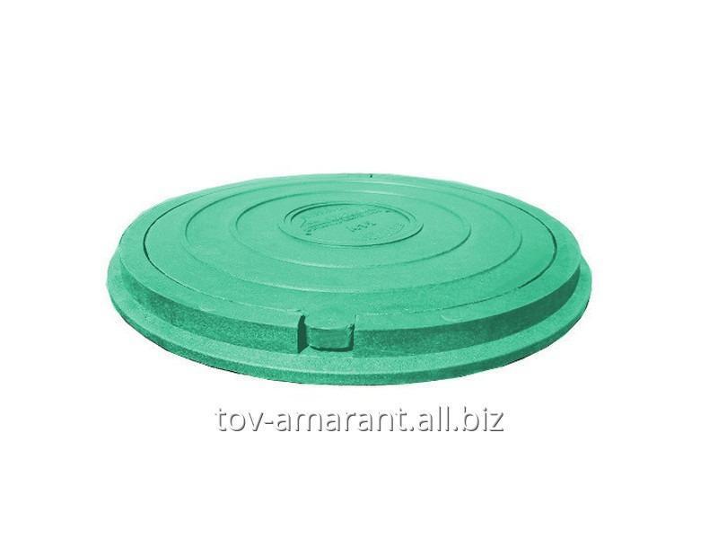 Купить Люк полимерпесчаный садовый зеленый 1,5 т