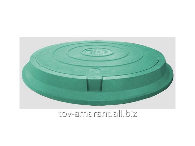 Купить Люк полимерпесчаный легкий 3 т зеленый