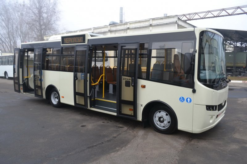 Автобус Богдан А-092Н6 Городской Низкопольный