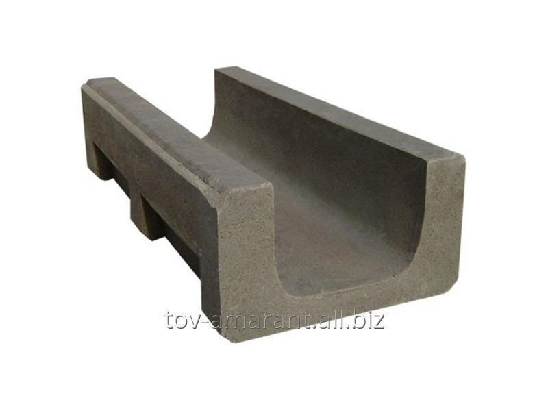Купить Канал ливневой канализации средний полимеркомпозитный класса В125