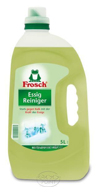 Купить Очистительное средство из яблочного уксуса для удаления известковых отложений Frosch (Фрош), 5л (4001499115561)