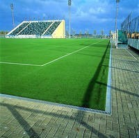 Buy Special system of a linear drainage system for sports constructions of ACO Sport 8000