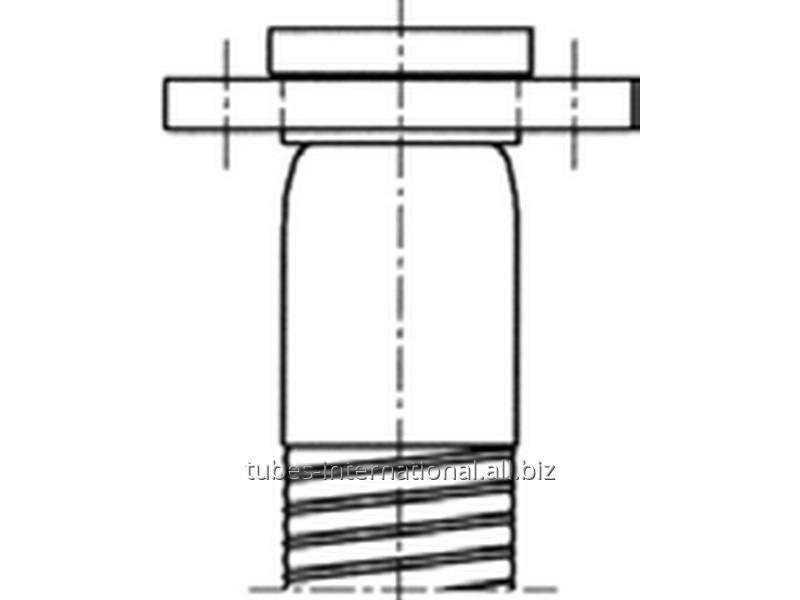 Фланцевый фитинг для композитного шланга