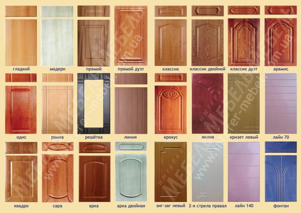 металлические двери и фасады мдф