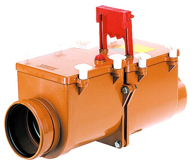 Механический магистральный канализационный затвор из ABS, DN110мм, HL710.2