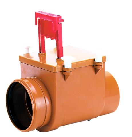 Механический магистральный канализационный затвор из ABS, DN110мм, HL710.1