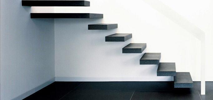 Лестница из стены своими руками