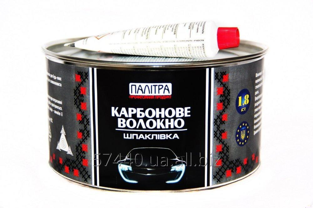 Купить Шпаклівка карбонове волокно 1,8 кг