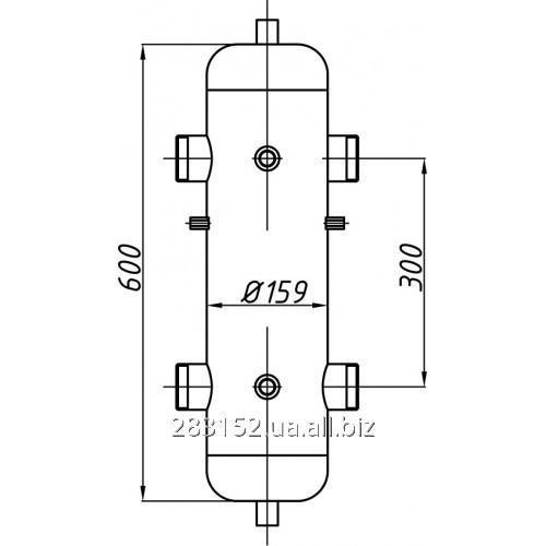 Гідрострілка СК 28.01.000 (ГС-160) з кріпленням 6316