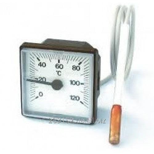 ГКТ Термометр квадратний ф45мм капиляр 100см 6,5*31мм 5336