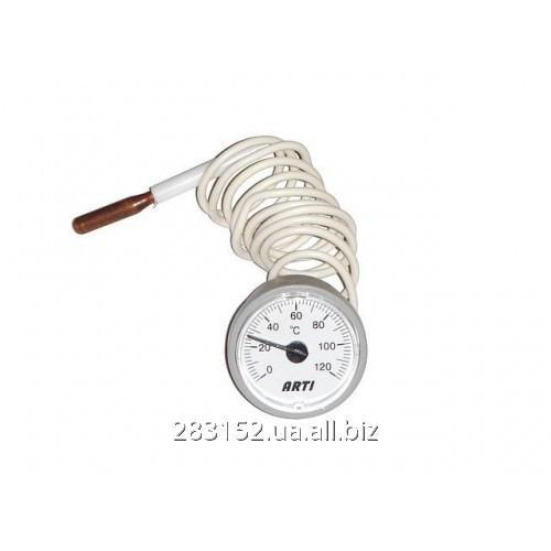 ГКТ Термометр круглий ф37мм капиляр 5337