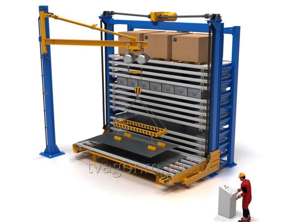 Купить Автоматизированный склад листового металлопроката с возможностью хранения штучных грузов
