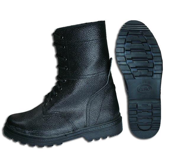 Обувь бортопрошивного метода крепления подошвы: Ботинки юфть/кирза, ОМОН