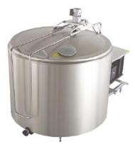 Buy The tank - a cooler of De Laval DX08 milk