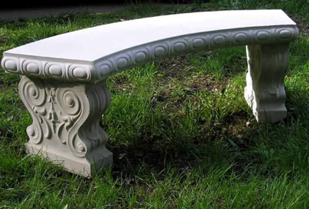 Скамья из бетона купить брусчатка на цементный раствор